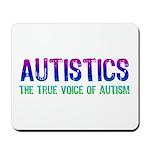 Voice of Autism (Color) Mousepad