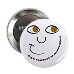 "Eye Contact 2.25"" Button (10 pack)"