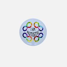 I Am Autistic Mini Button