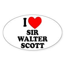 Walter Scott Oval Decal