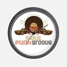 Soul Funk Groove Wall Clock