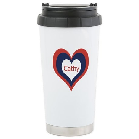 Cathy - Stainless Steel Travel Mug