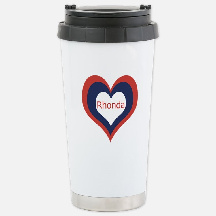 Rhonda - Stainless Steel Travel Mug