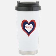 Shirley - Stainless Steel Travel Mug