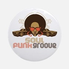 Soul Funk Groove Ornament (Round)