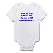 Aunt Wrapped Around Finger - Infant Bodysuit