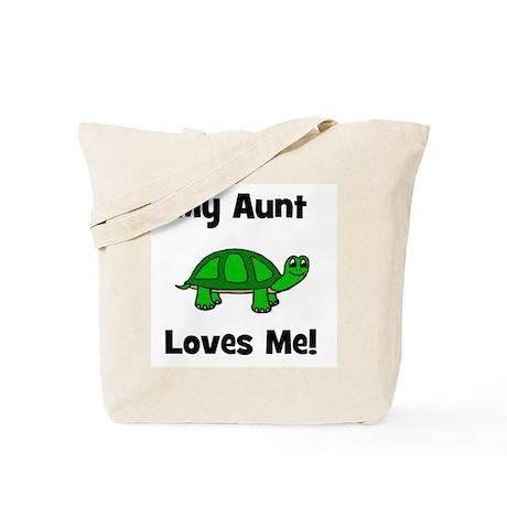 My Aunt Loves Me! Turtle Tote Bag