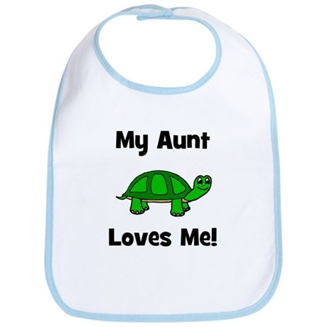 My Aunt Loves Me! Turtle Bib