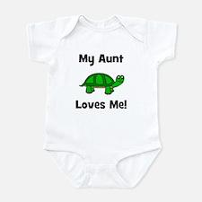 My Aunt Loves Me! Turtle Infant Bodysuit