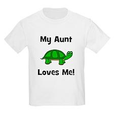My Aunt Loves Me! Turtle T-Shirt