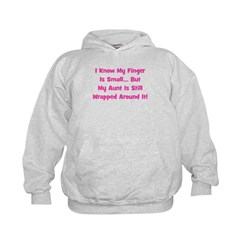 Aunt Wrapped Around Finger. P Hoodie