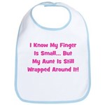 Aunt Wrapped Around Finger. P Bib