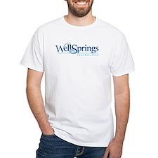 Wellsprings Front Logo Back URL Shirt