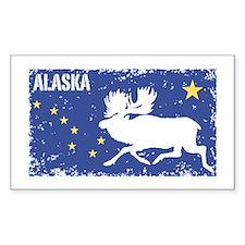 Alaska Rectangle Decal