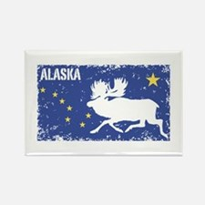 Alaska Rectangle Magnet