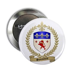 "SANSOUCY Family Crest 2.25"" Button (100 pack)"