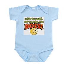 Still the Boss Infant Creeper