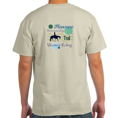 Western All Around in Blue T-Shirt