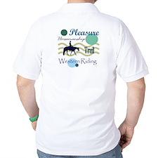 Western All Around in Blue T-Shirt