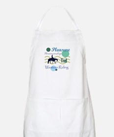 Western All Around in Blue BBQ Apron