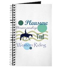 Western All Around in Blue Journal