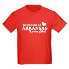 Somebody in Arkansas Loves me T