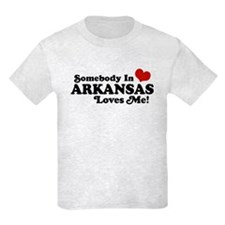 Somebody in Arkansas Loves me T-Shirt