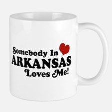 Somebody in Arkansas Loves me Mug