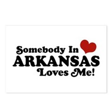 Somebody in Arkansas Loves me Postcards (Package o