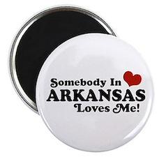 Somebody in Arkansas Loves me Magnet