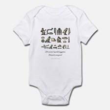 I Speak Egyptian Onesie