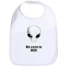 We come in war Bib