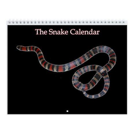 Snake Wall Calendar