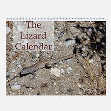 Lizard Wall Calendar