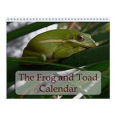 Frog & Toad Wall Calendar