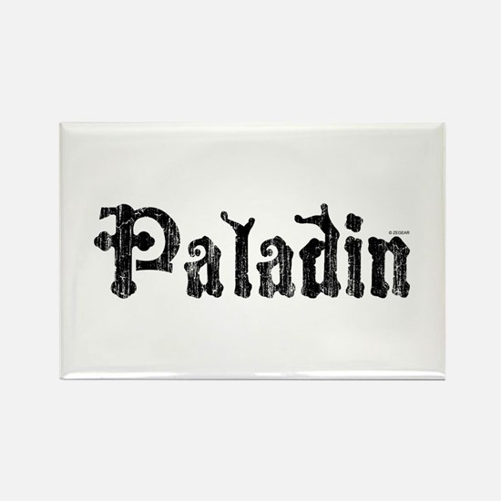 Cool Paladin Rectangle Magnet