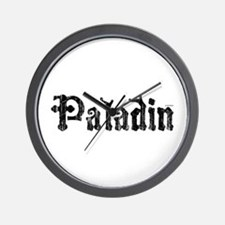 Cool Paladin Wall Clock