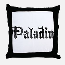 Unique Paladin Throw Pillow