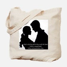 Lion Fell in Love Tote Bag