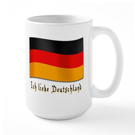 ich liebe deutschland large mug by liebedeutsch. Black Bedroom Furniture Sets. Home Design Ideas