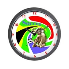 World Cut Soccer - Wall Clock