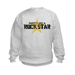 Party Like a Rock Star Sweatshirt