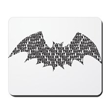 Black Bats Mousepad