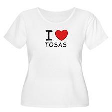 I love TOSAS T-Shirt