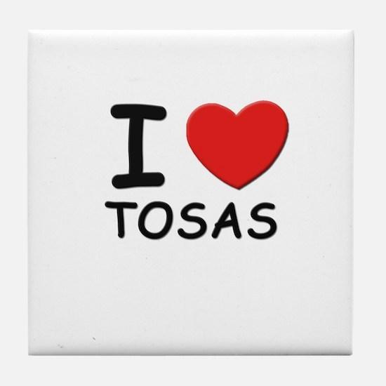 I love TOSAS Tile Coaster
