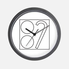 Two Ball Cane Wall Clock
