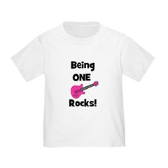 Being ONE Rocks! pink T