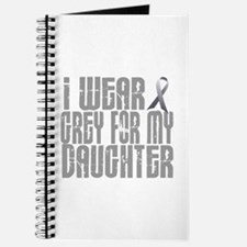 I Wear Grey For My Daughter 16 Journal