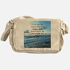 PHIL 4:13 VERSE Messenger Bag