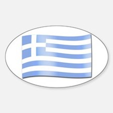 Forever Greek Oval Decal